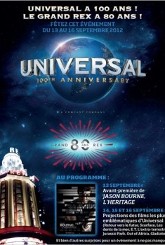 100 ans Universal - Pass 2 jours (2012)
