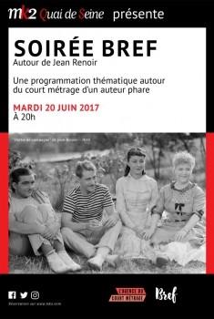 Soirée Bref autour de Jean Renoir (2016)